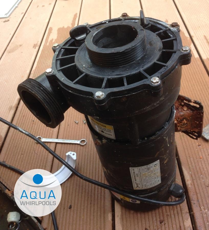 Pumpe jazzi whirlpool aqua whirlpools - Aqua whirlpools ...