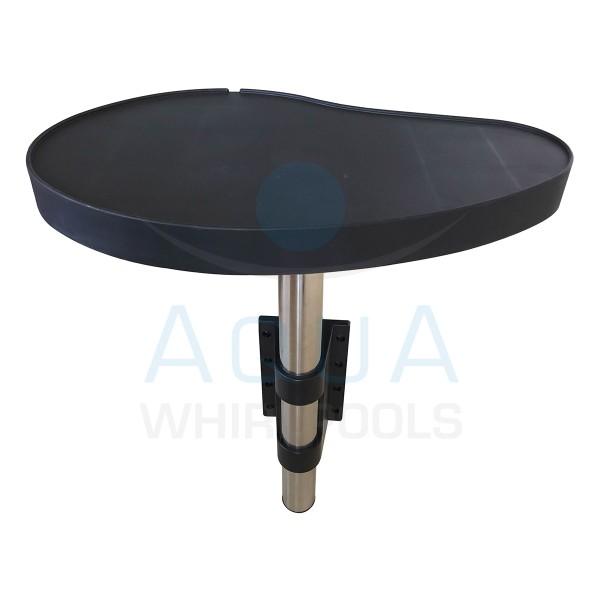 Whirlpool Tisch - Die praktische Ablage für Ihre Getränke, Brillen oder Mobiltelefone