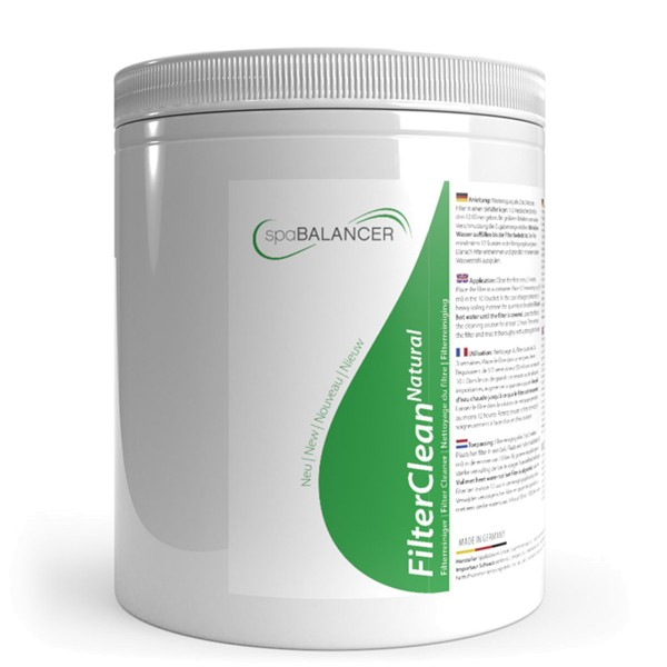 SpaBalancer FilterClean Natural