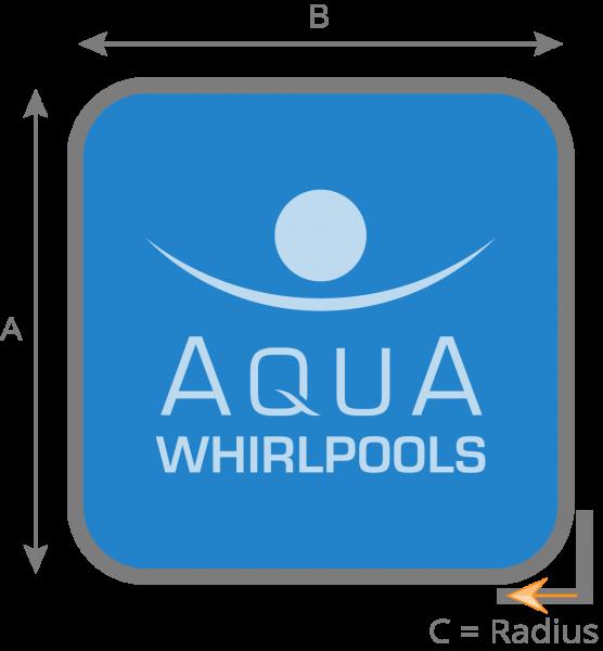 Notwendige Maßangaben für Ihre neue Whirlpool - Abdeckung