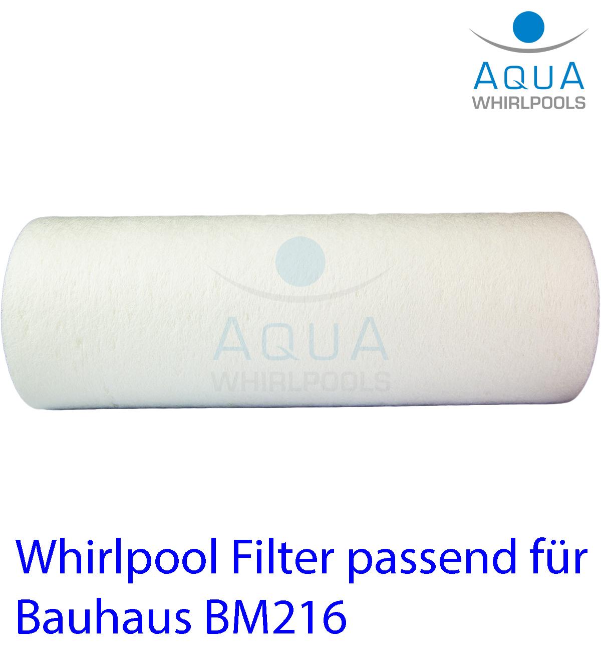 Whirlpool Filter passend für Bauhaus BM216 | Blog | Aqua ...