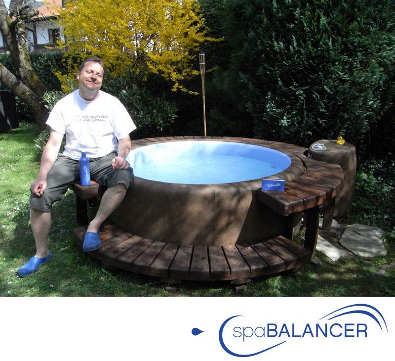 Hervorragend Whirlpool SOFTUB aus München und Wasserpflege ohne Chlor QV17