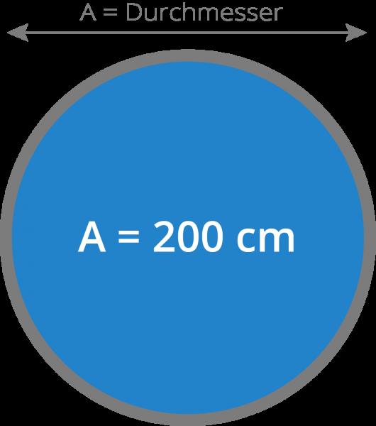 Cover - Isolierabdeckung Whirlpool 200 cm rund