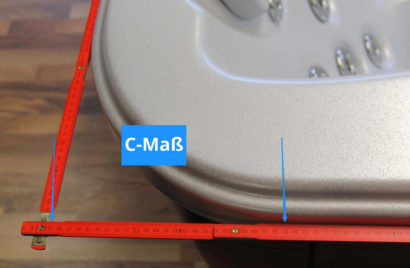 Bild 2: So Messen Sie den Radius Ihrer Whirlpool - Abdeckung
