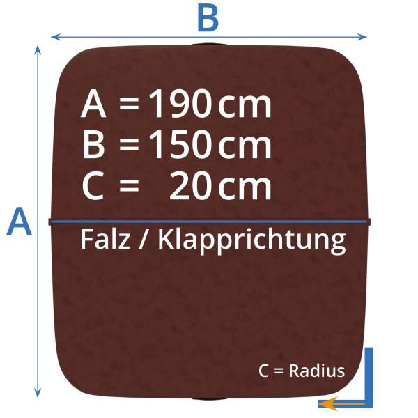 Afdekking - Isolatieafdekking whirlpool 195 x 150 cm