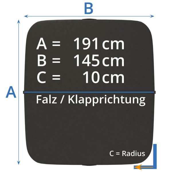 Afdekking - Isolatieafdekking whirlpool 200 x 150 cm