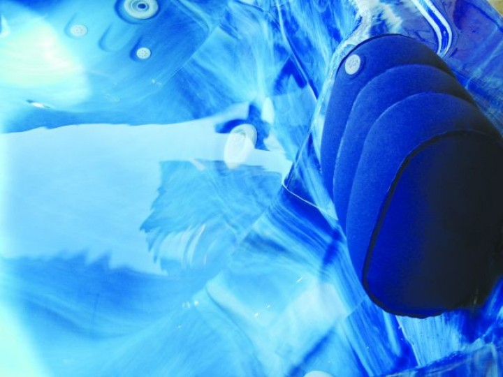 Aufblasbares Whirlpool-Kopfkissen