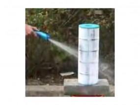 Filterreiniger für Filterspülung Water Wand