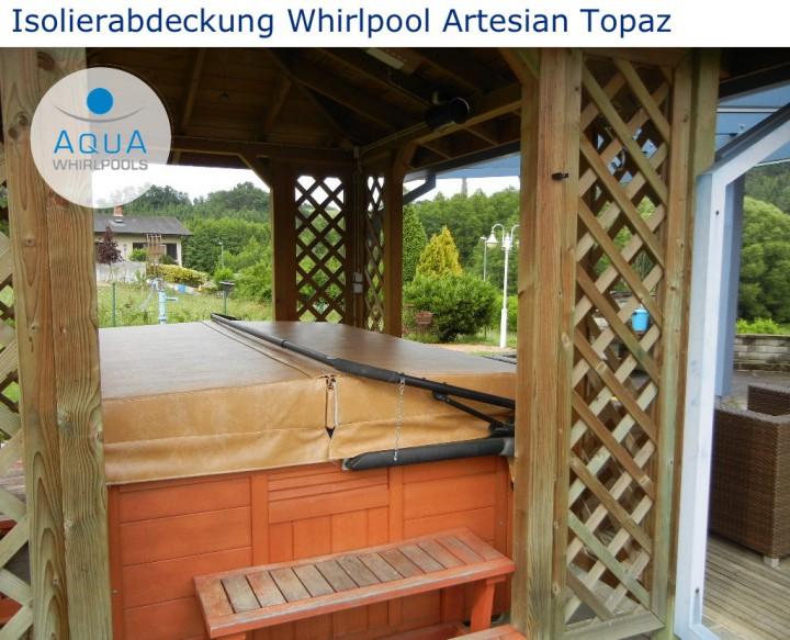 Isolierabdeckung Whirlpool Artesian Topaz