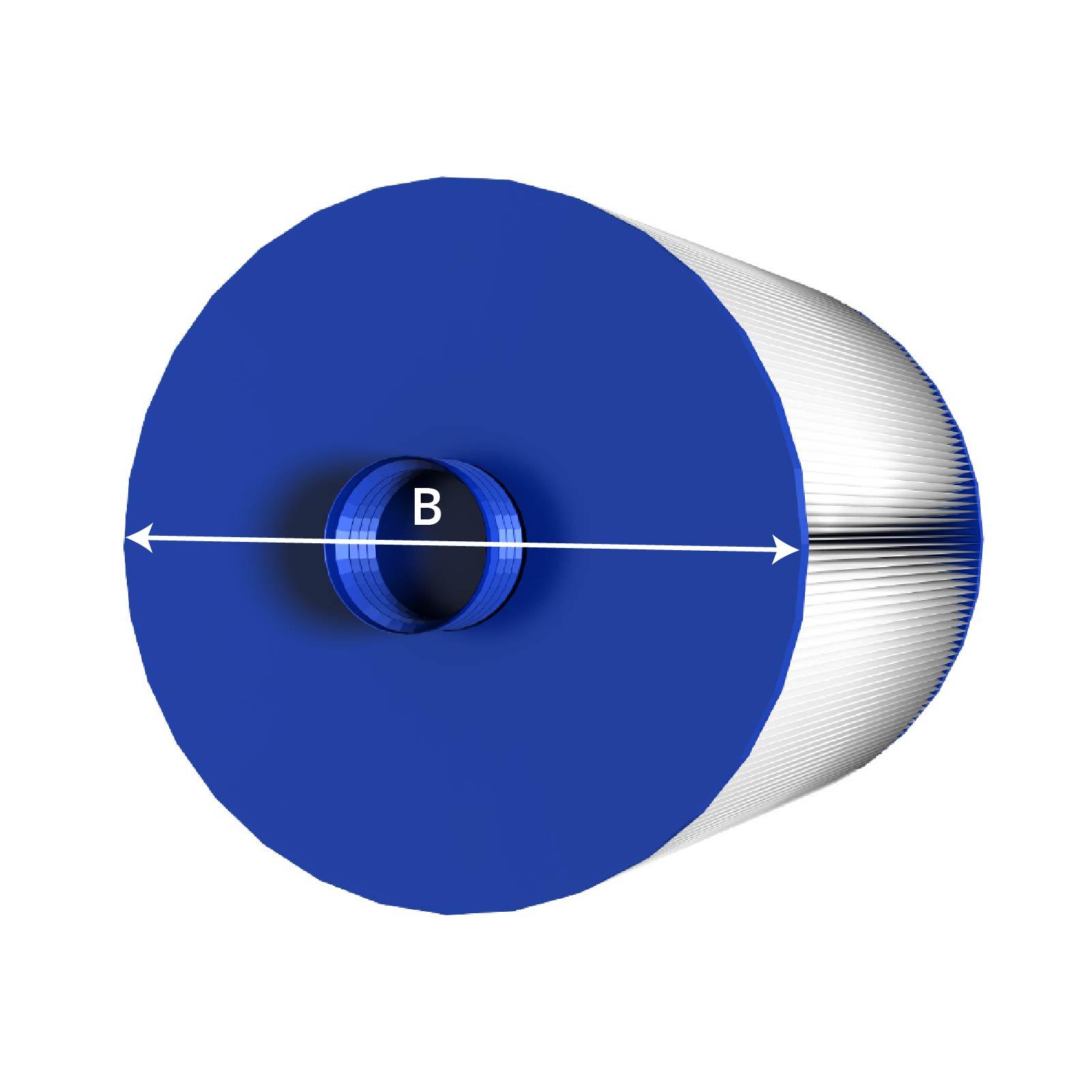 Filter-Durchmesser Messen