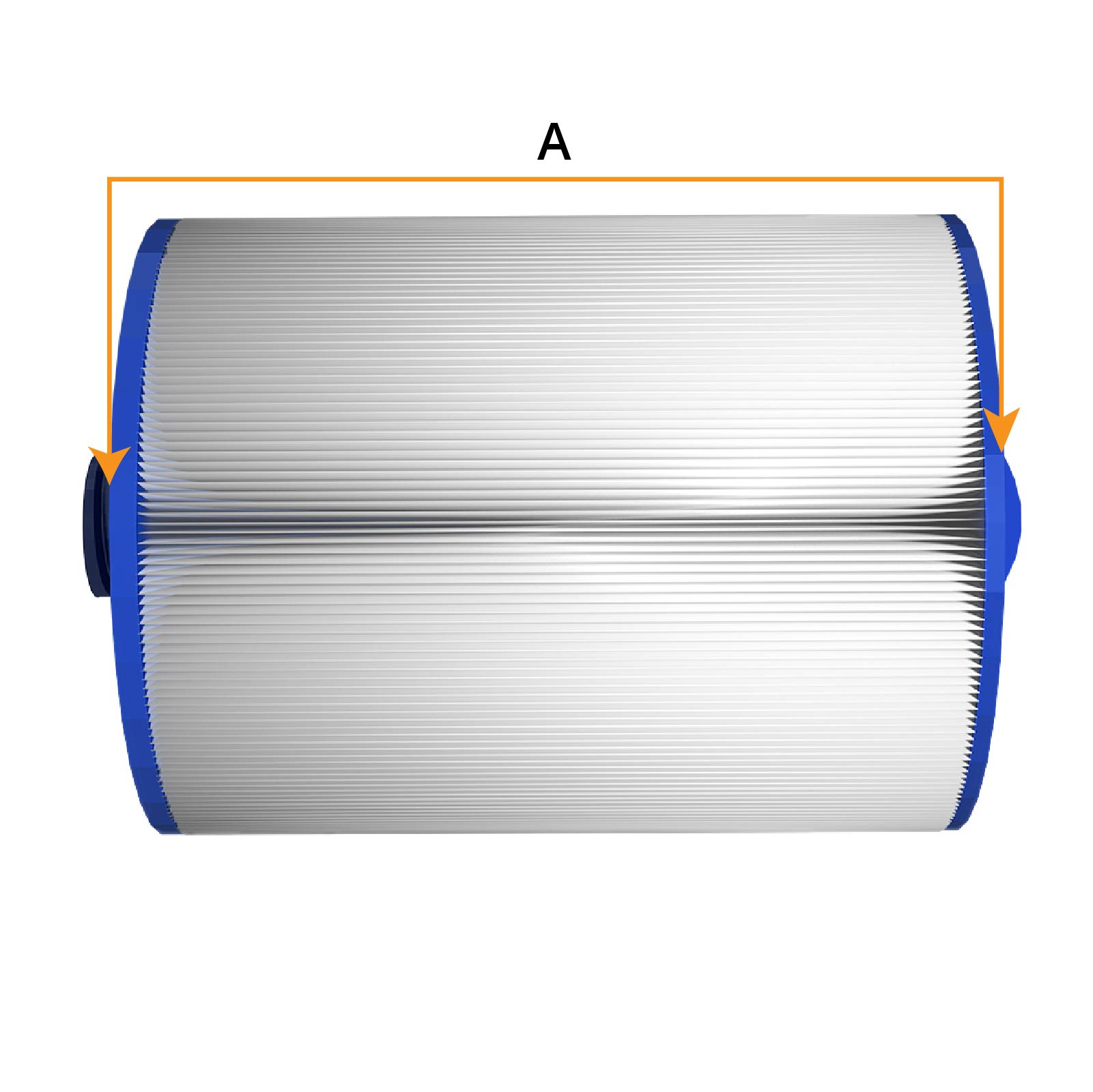 Filter-Länge Messen
