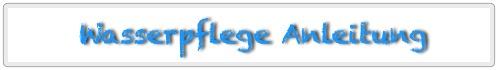 Detailierte Anleitung zur Wasserpflege als PDF-Datei